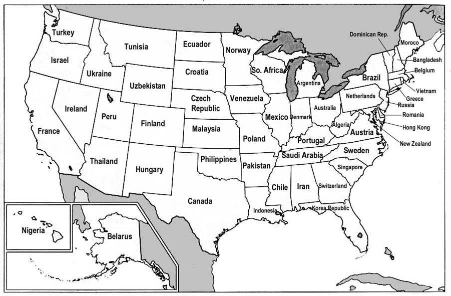 Hot Meme The US States Renamed According To GDP Size Dan Spira - Map of us added to canada meme