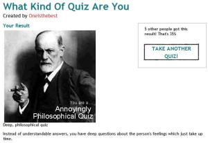 Tell Me About Your Quizzes...