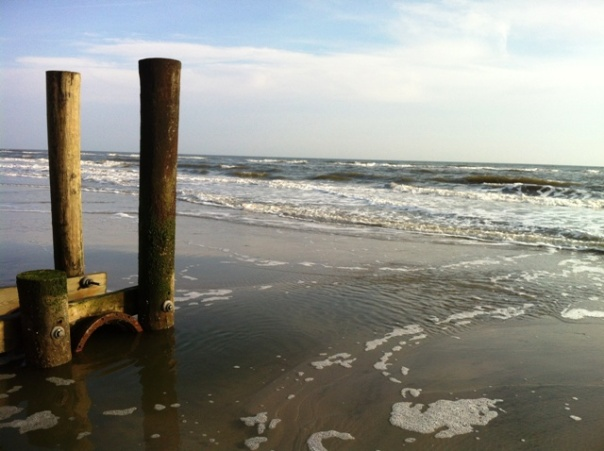 Piers and Pipes - Atlantic City Beach Dec 2012