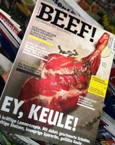 Wo ist das Rindfleisch?