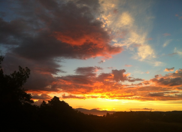 taupo sunset 1