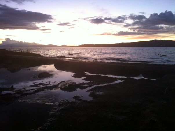 taupo sunset 3