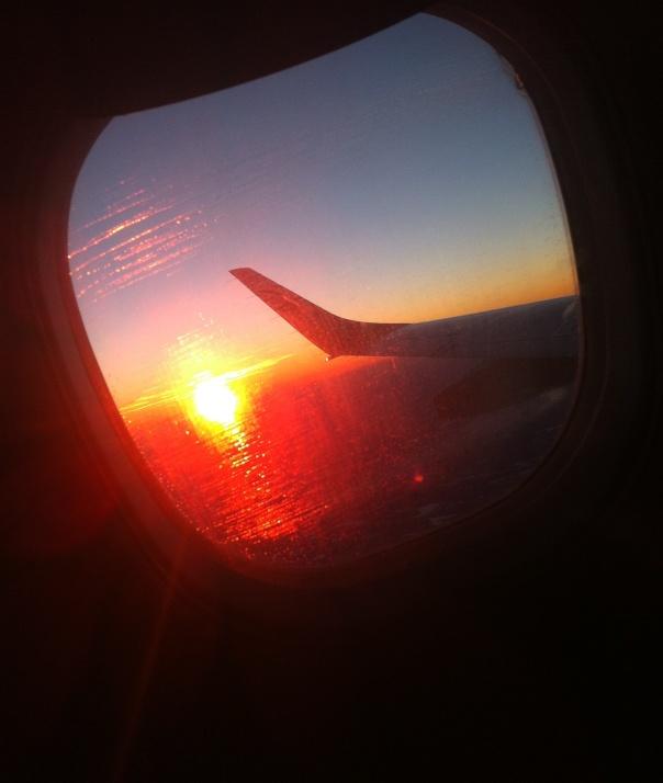 Sunset Wingtip