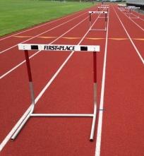 Running Track Hurdles