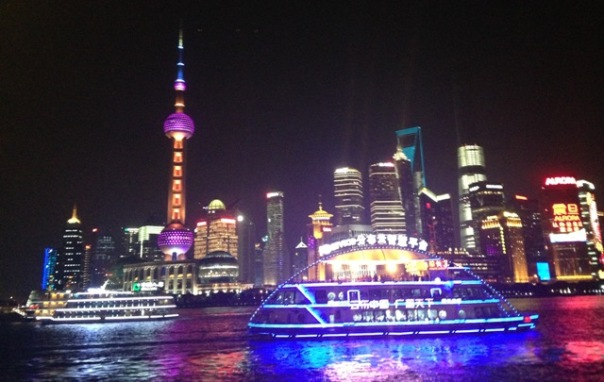Make way for the magical Huangpu river disco boat!
