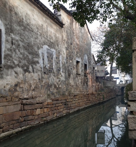 Suzhou Building Stories Rustic Wall 1