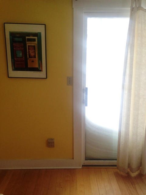 Blizzard Sliding Door Glare 1