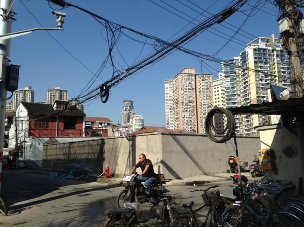 e - fangbang electric avenue -Shanghai City Block Demolitions