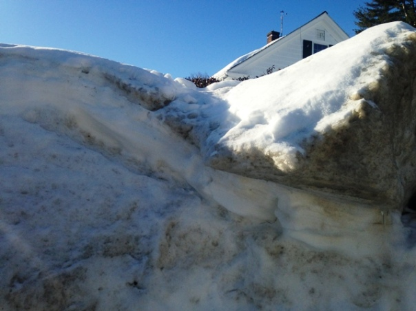 01 - twelve foot high snowbanks