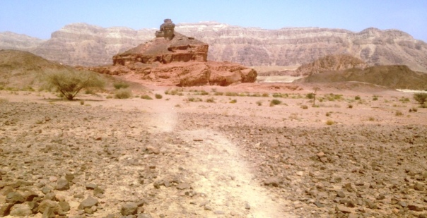 Timna Spiral Hill Approach